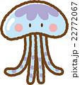 クラゲ 22772067