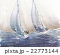 ヨット 挿絵 22773144