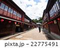 昼間の東茶屋街【金沢】 22775491