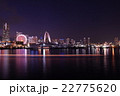 横浜 みなとみらい 夜景の写真 22775620