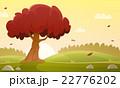 ベクトル 秋 樹木のイラスト 22776202