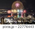 花火と神戸の夜景 22776443