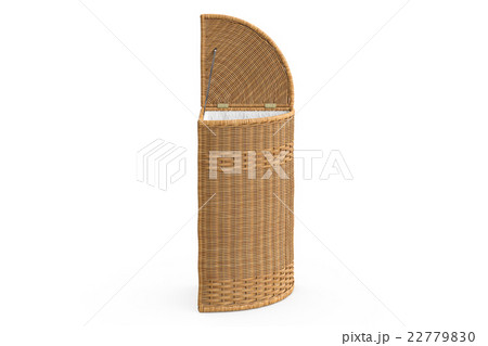 Empty wicker basket decorativeのイラスト素材 [22779830] - PIXTA