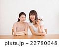 OKサインをする笑顔の女性 22780648