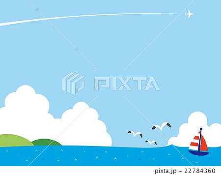 海のイラストのイラスト素材 22784360 Pixta