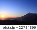 岩手山の夜明け 22784899