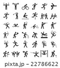 Set of sport icons. 22786622