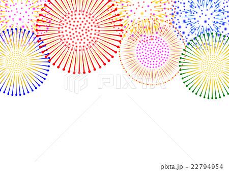 花火 背景イラスト のイラスト素材 22794954 Pixta