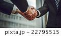 握手 ボディパーツ ビジネスの写真 22795515
