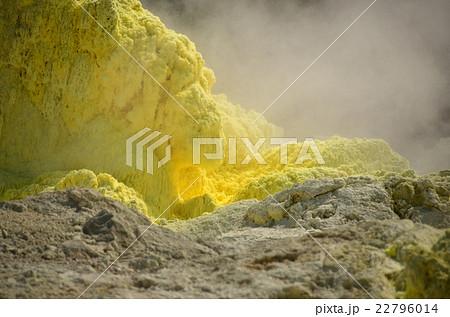 成長する硫黄塊 22796014