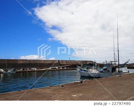 八丈島 神湊漁港 22797490