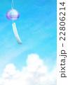 風鈴と夏空 22806214