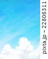 入道雲と夏の空 22806311