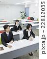 新入社員 オリエンテーション ビジネスマンの写真 22812035