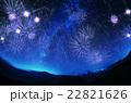 星空、花火 22821626