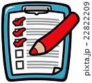 チェックリスト(赤) 22822209