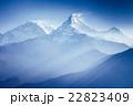 アンナプルナ ヒマラヤ 山の写真 22823409