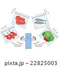 ジップロップと食材 22825003