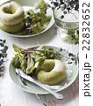 抹茶のベーグルパン 22832652