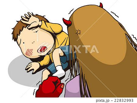 「児童虐待」のイメージイラスト 22832993