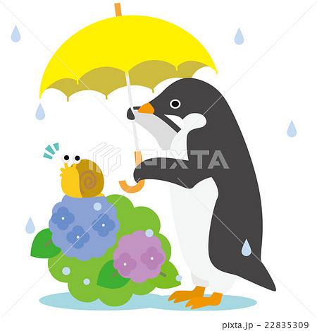 アデリーペンギン あじさい 22835309