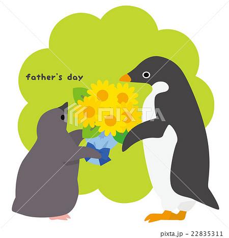 アデリーペンギン 父の日 22835311