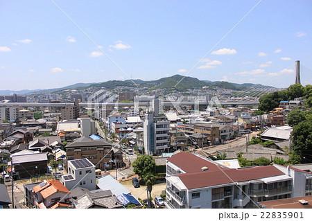 大阪府池田市の街並み風景の写真素材 [22835901] - PIXTA