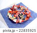 折り鶴と和紙 22835925