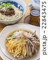 冷やし中華 冷製 料理の写真 22843475