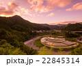 あらぎ島 棚田 水田の写真 22845314