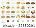 食べ物 ご飯 飯のイラスト 22850201