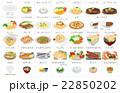 食べ物 ご飯 飯のイラスト 22850202