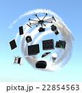 モノのインターネットのコンセプトイラスト 22854563