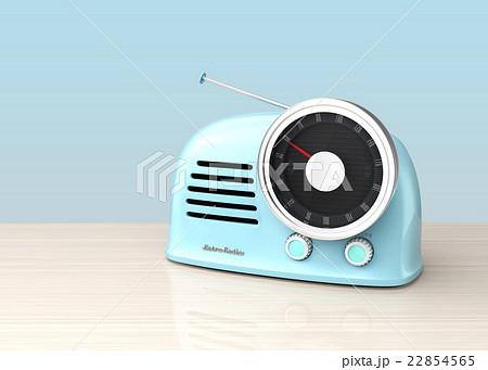 レトロスタイルのラジオ 22854565