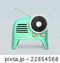 ラジオ 電化製品 家電製品のイラスト 22854568