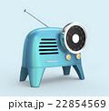 レトロスタイルのラジオ 22854569