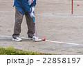 ゲートボールを楽しむ老人 22858197