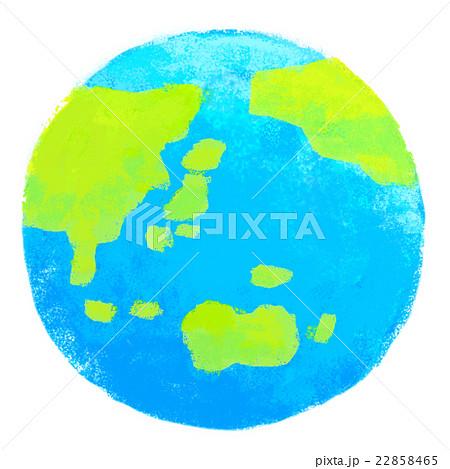 クレヨン 惑星 地球のイラスト素材 22858465 Pixta