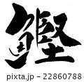 鰹 筆文字 漢字のイラスト 22860788