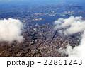 雲の下の横浜 22861243