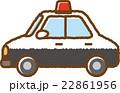 パトカー 22861956
