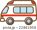 救急車 車 自動車のイラスト 22861958