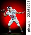 american football player man isolated 22861995