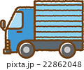 トラック(青) 22862048