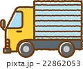 トラック(黄色) 22862053