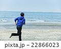 ランニング 走る 若者の写真 22866023