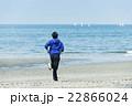 ランニング 走る 若者の写真 22866024
