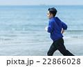 ランニング 走る 若者の写真 22866028
