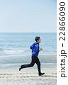 ランニング 走る 若者の写真 22866090