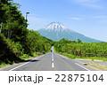 羊蹄山 蝦夷富士 夏の写真 22875104